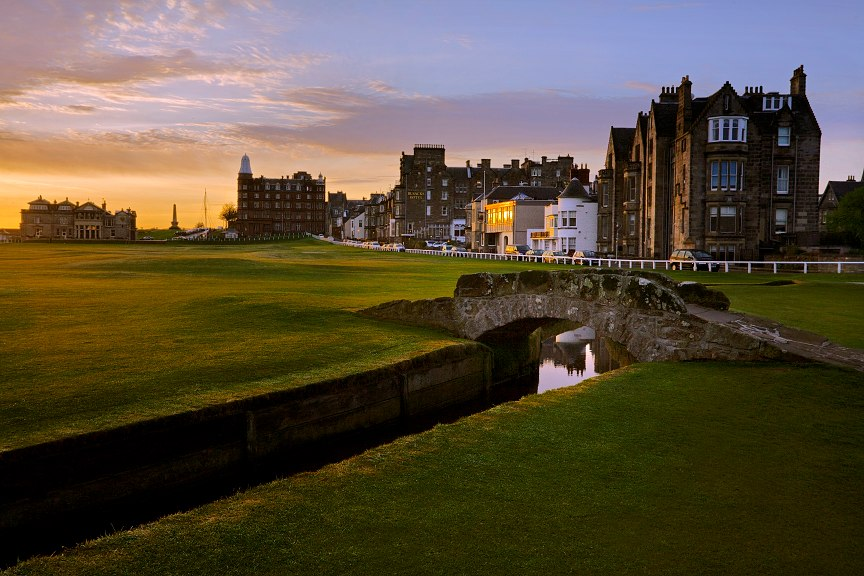 Swilcan Bridge Old Course
