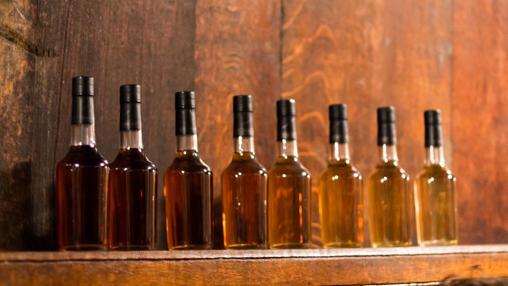 Le Calvados à différentes étapes de vieillissement