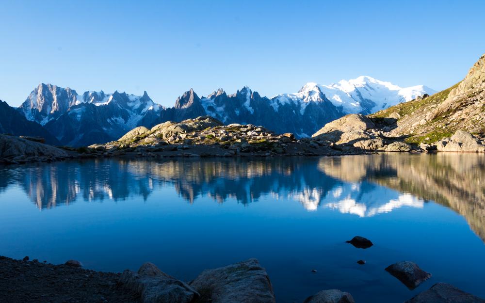 Le reflet sur le Lac Blanc