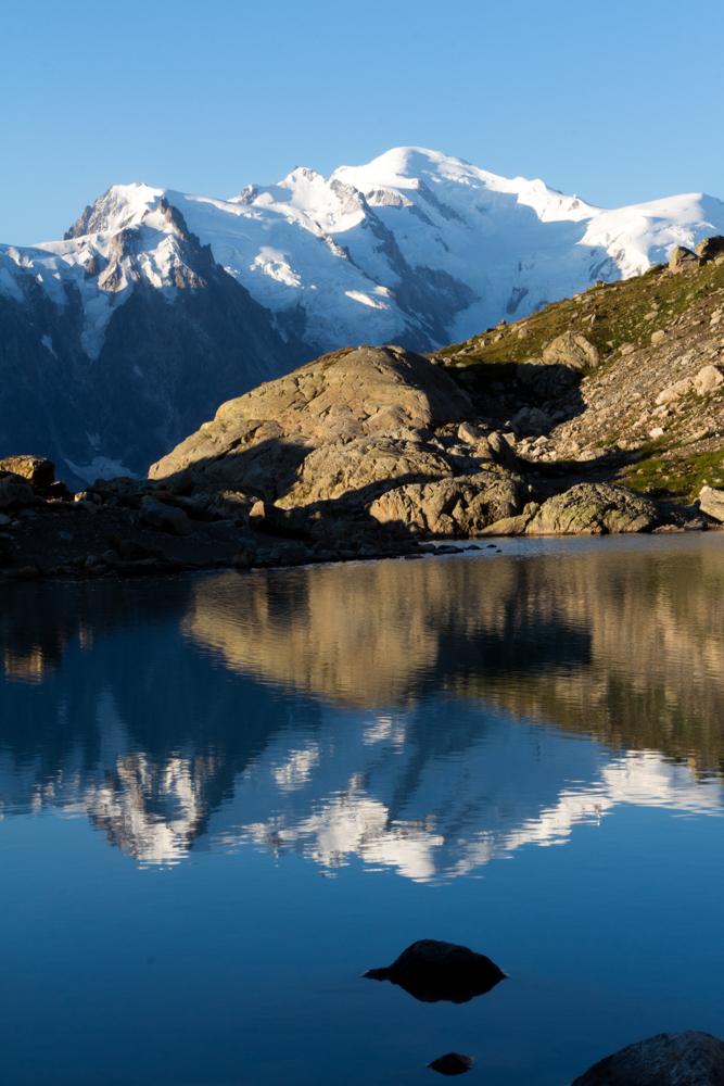Le Mont-Blanc comme je ne l'avais jamais vu